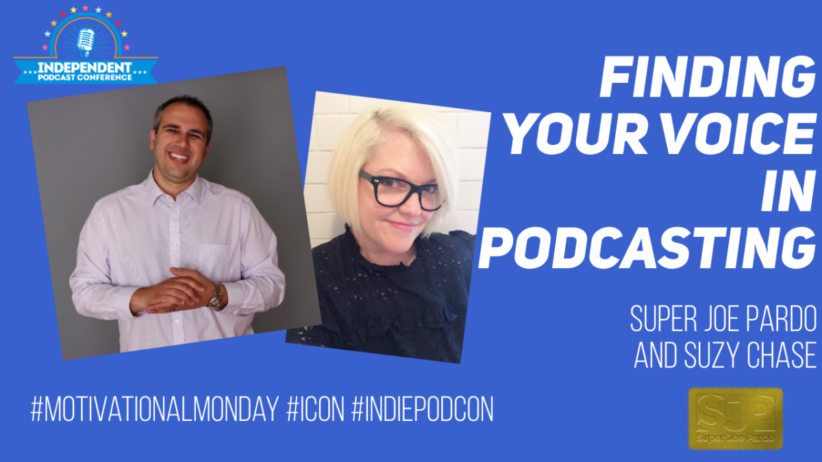 finding your podcast voice
